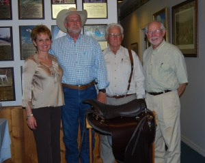 Region 6 Shooting Dog of the Year Award: Connie Crowell, Les Rowell, Art Crowell and Johnny Taylor