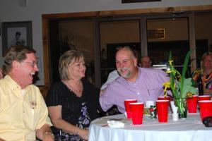 Dr. Rick Carlisle with Pat & Gary McKibben