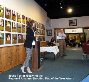 Joyce Taylor acceptance speech.